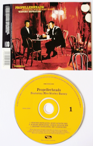 Propellerheads ft Shirley Bassey - History Repeating (CD Single) (EX/VG+)